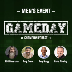 Gameday at Champion Forest