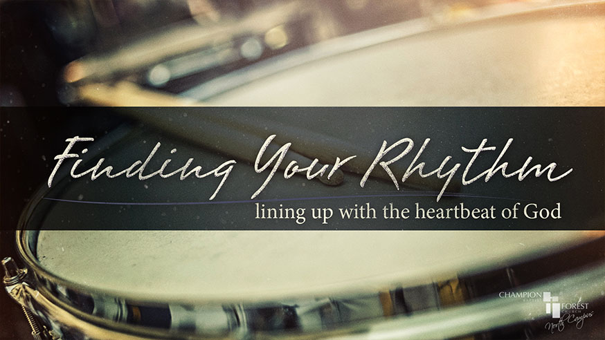 Finding Your Rhythm - North